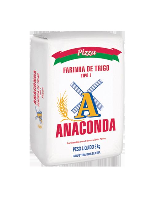 Farinha de Trigo Anaconda Pizza - Tipo 1