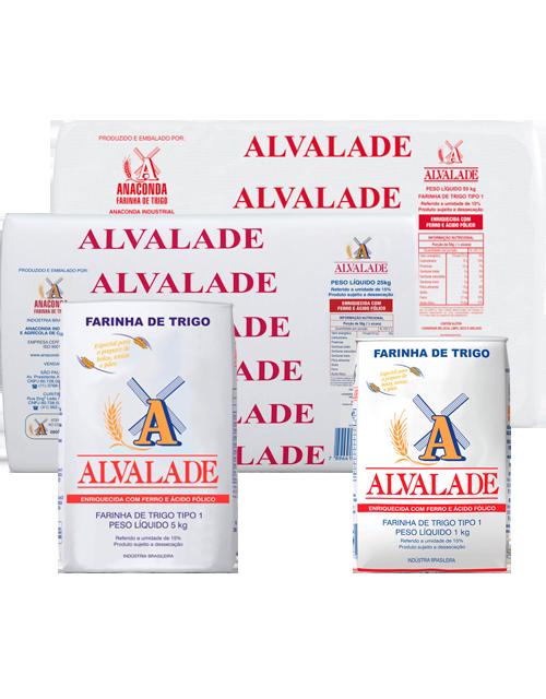 Farinha de Trigo Alvalade - Tipo 1