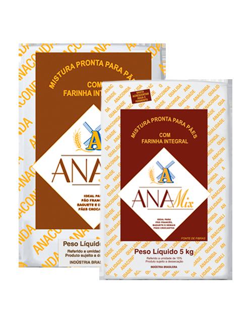 Mistura Pronta Anamix Pão com Fibras