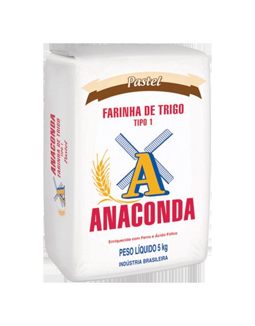 Farinha de Trigo Anaconda Pastel - Tipo 1