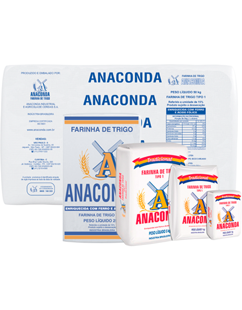 Farinha de Trigo Anaconda Tradicional