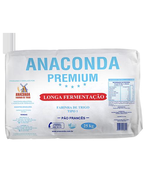 Farinha de Trigo Anaconda Premium Longa Fermentação - Tipo 1